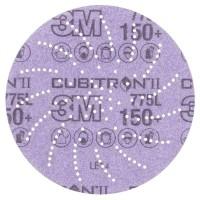 3M™ Cubitron™ II Hookit™ 775L Шлифовальный Круг, 400+, 152 мм, Клин Сэндинг, арт. 05059