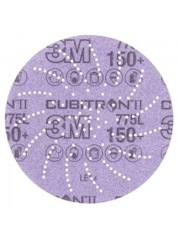 47098 3M™ Cubitron™ II Hookit™ 775L Шлифовальный Круг, 240+, 152 мм, Клин Сэндинг, арт. 47098 ,  Цена за 1 шт. с учетом НДС - 71.68 р.