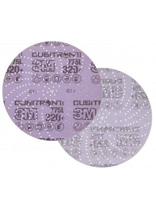 3M™ Cubitron™ II Hookit™ 775L Шлифовальный Круг, 240+, 152 мм, Клин Сэндинг, арт. 47098