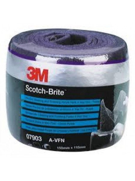 Scotch-Brite™ CF-SR Лист, A VFN пурпурный 150 мм х 115 мм, 35 шт/рул
