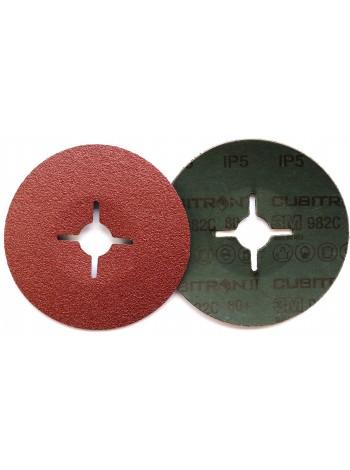 27624 3M™ Cubitron™ II 982C Фибровый Круг, 60+ 125мм ,  Цена за 1 шт. с учетом НДС - 182.45 р.