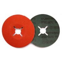 3M™ Cubitron™ II 987C Фибровый Круг, 80+ 125мм