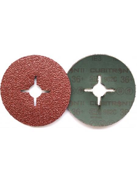 3M™ Cubitron™ II 982C Фибровый Круг, 36+ 125мм