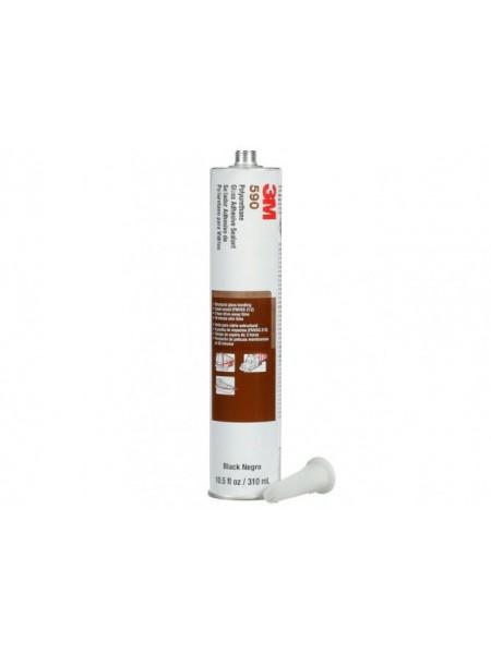 3M™ 590 Полиуретановый Клей-герметик OEM для Стекла, чёрный, 310 мл