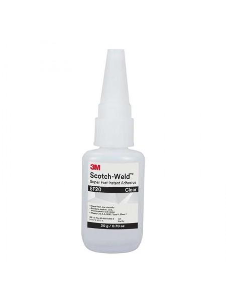 3M™ Scotch-Weld™ SF20 Клей однокомпонентный цианакрилатный, прозрачный, 20 г