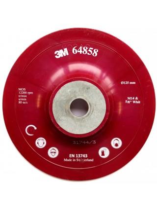 Оправка для фибровых кругов 125мм х 22мм плоская M14
