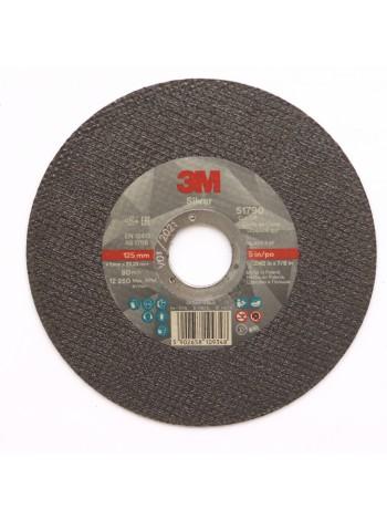 51792 Отрезной диск  3M Silver 125мм х 1,6мм х 22мм ,  Цена за 1 шт. с учетом НДС - 170.50 р.