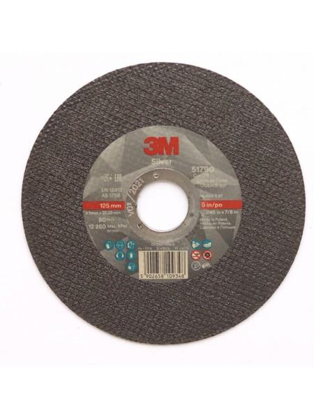 Отрезной диск  3M Silver 125мм х 1мм х 22мм